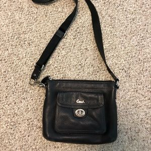 Coach over the shoulder black